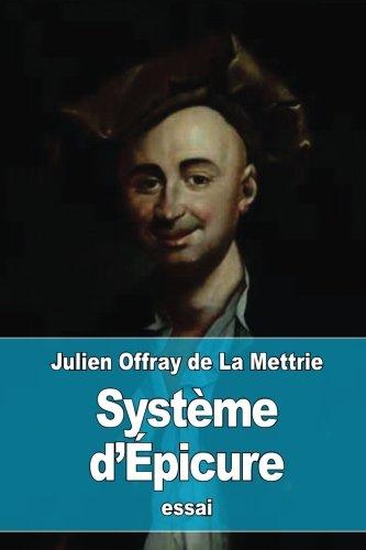 Système d'Épicure par Julien Offray de La Mettrie