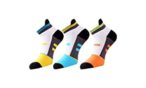 Vacalvers Multicolour Cotton Socks For Men (Pack of 3) | socks for men cotton | Loafer Socks | socks combo for men |Ankle socks for Men | socks combo for men cotton | ankle socks men | Invisible Socks |