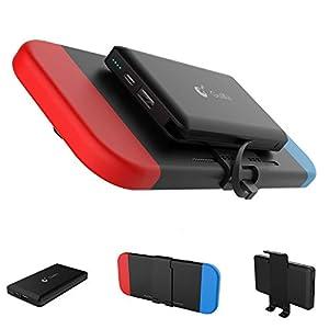 GULIkit Power Bank 10000mAh Externer Akku für Nintendo Switch und Handys, Kompaktes Reise Backup Batterien Ladegerät…