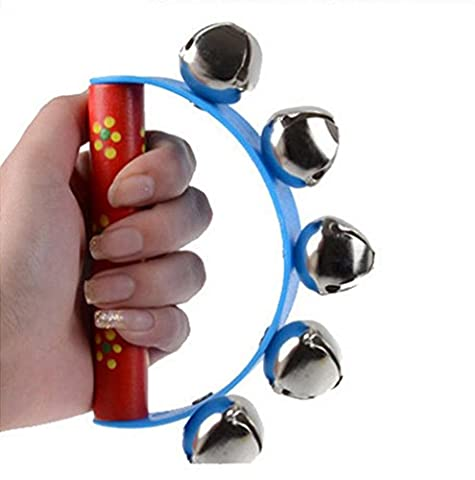Transer® Toys for Kids- Musical Handbell Jingle Percussion- Baby Instrument