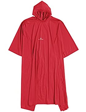 Ferrino - Poncho Junior, Color Rojo