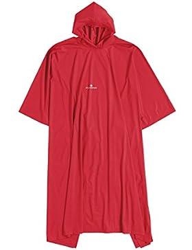 Ferrino - Poncho, Color Rojo