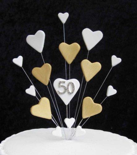 Karen S Cake Toppers Decorazione Per Torta Per 50 Anni Di