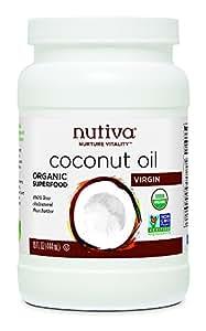 Nutiva Organic Extra Virgin Coconut Oil 444 ml