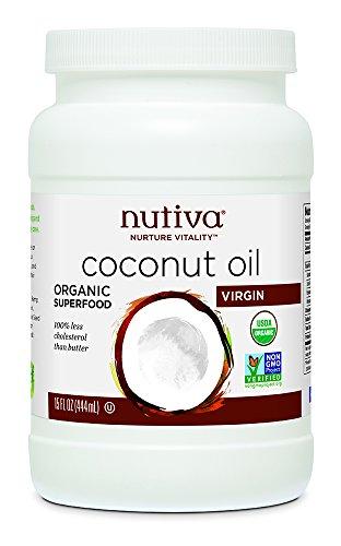 Nutiva Huile de noix de coco bio - Extra-vierge - 443 ml