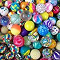 BARGAINS WHOLESALE LTD NEW 50 SUPER BOUNCE BOUNCY BALL JET BALLS CHILDREN KIDS BIRTHDAY PARTY BAG FILLER GIFT TOY, COMES IN BAG OF 50PCS, CHEAPEST SAME DAY DISPATCH FOR FREE : everything five pounds (or less!)