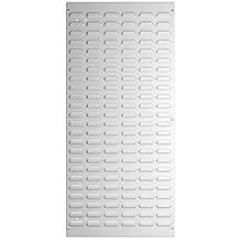 lichtgrau bott perfo 14014008.16 Schr/ägablage DIN A3 f/ür Lochplatten
