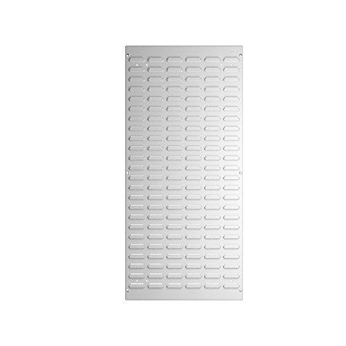 bott perfo Schlitzplatte vertikal, BxH: 457 x 991 mm, 1 Stück, M, lichtgrau, 14025148.16 (Frei Stehende Box)