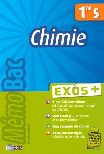 Chimie 1e S : Exos +