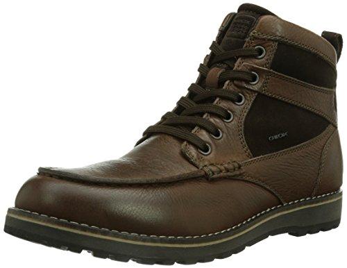 Geox U HIGHLAND Herren Combat Boots Braun (CHESTNUT/DK COFFEEC6160)