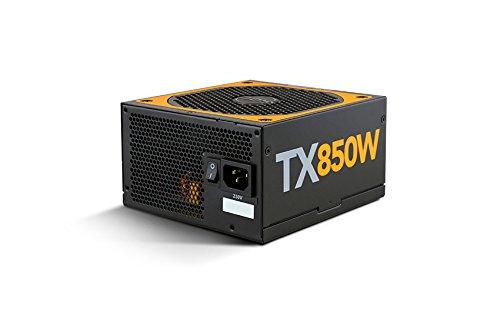 NOX Urano PC-Netzteil-Einheit TX 850W Bronze Edition 850W ATX schwarz, orange -(850W, 200-240, 47-63, aktiv, 130W, 840W)