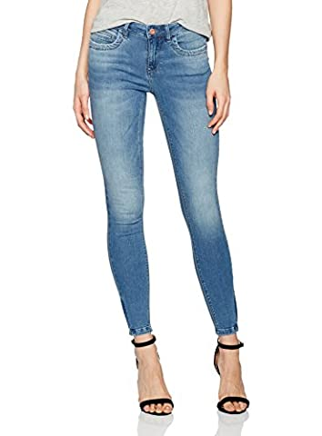 ONLY Onlkendell Ankzip Mb Dnm Jea Bj8365 Noos, Jeans Femme, Bleu (Medium Blue Denim), W30/L32 (Taille Fabricant: