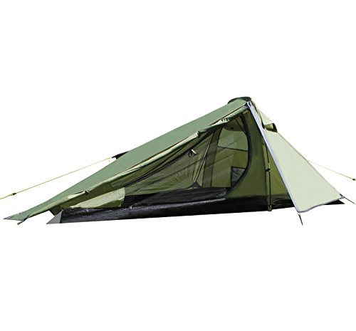 Yellowstone Alpine 1-2 Personen - Ultralight Zelt, grün, 1