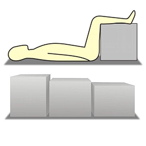 Schaumstoff-/ Bandscheibenwürfel/ Stufenbett 50x45x40 cm (ohne Bezug)
