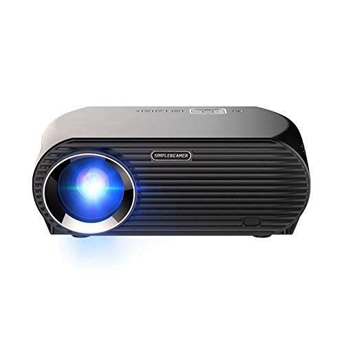 QPZYB Office Home Projector WiFi Projector HD 1080P Wireless Android GP100UP (Wireless-webcams Hd)