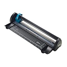 Avery A4 A4CT Compact Trimmer Paper Cutter, Black and Teal