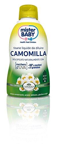 L'Angelica Mister Baby Tisana Camomilla - 1 Bottiglia da 150 ml