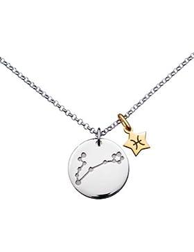 Fisch Halskette Sternzeichen Sternbild–Silber 925/00–Länge 45cm–www.diamants-perles.com