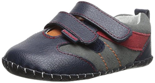 Pediped Originals Grayson Navy Leather Soft Soles Navy