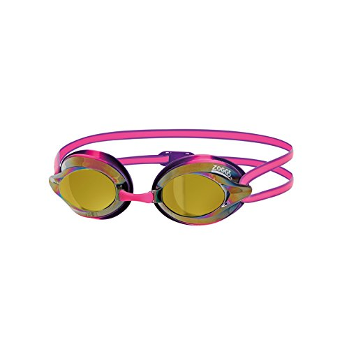 Zoggs Racespex Schwimmbrille, Pink/Purple/Mirror, One Size