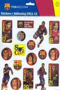Panini fondo - Fc barcelona stickers 27x21