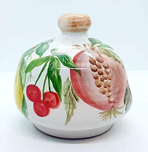 Nascondispugna Linea Frutti Misti per Cucina e Bagno Handmade Le Ceramiche del Castello 100% Made in Italy
