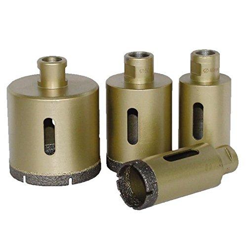 Trockenbohrkrone Economy / M14 für den Winkelschleifer / Ø 6 mm