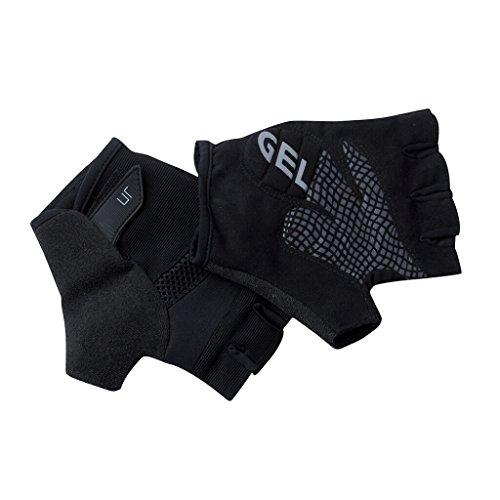 JAMES & NICHOLSON Bike Gel-Handschuhe für Damen und Herren (XL, black)