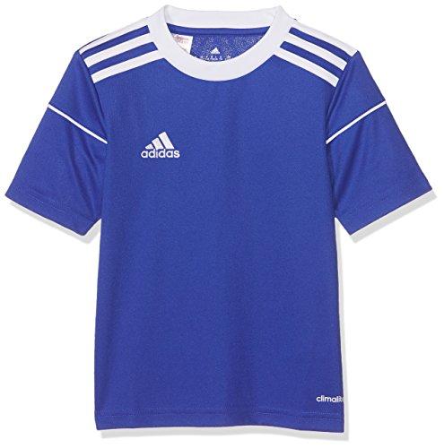 adidas Jungen Squadra 17 Short Sleeve Trikot, Bold Blue/White, 128