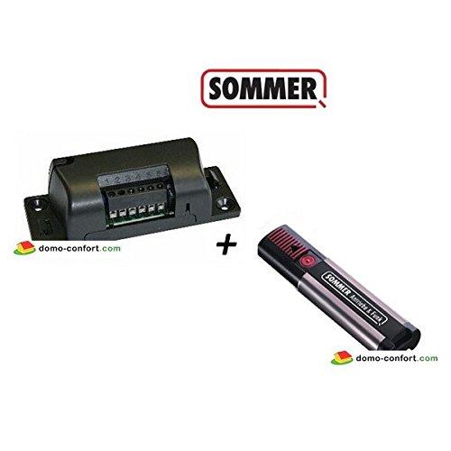 SOMMER–CONJUNTO RECEPTOR 4796+ MANDO A DISTANCIA 4020SOMMER–4796V4020