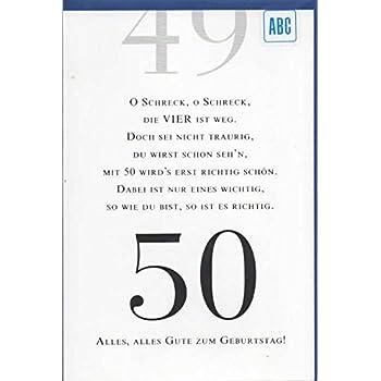 50 geburtstag gl ckwunschkarte geburtstagskarte mit zahl. Black Bedroom Furniture Sets. Home Design Ideas