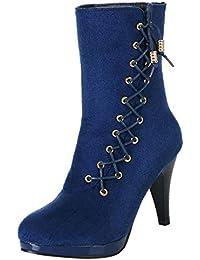 Amazon.es  ZARLLE Botas - 37   Zapatos para mujer   Zapatos  Zapatos ... 335f46839445
