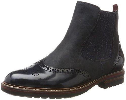Tamaris Damen 25437 Chelsea Boots, Blau (Navy), 37 EU