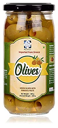 RYCA Green Olives with Pimiento Paste, 380g