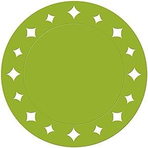 Givi Italia 62597 - Manteles Individuales (6 cm), Color Verde Lima