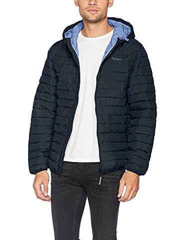 Pepe Jeans Herren Jacke Anis, Blau (Chatham Blue), Large