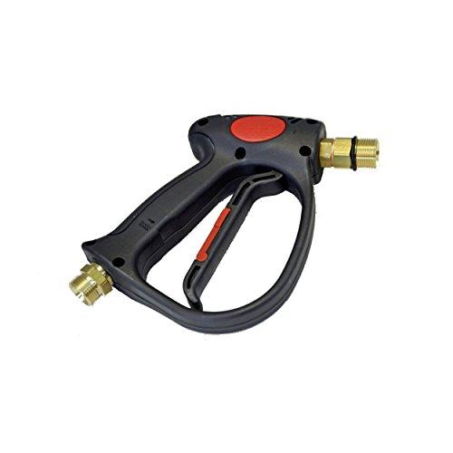 Hochdruckpistole Professional M22 Aussengewinde passend für Kärcher Kränzle Kranzle Kaltwasser und Heißwasser Hochdruckreiniger HD & HDS wie Pistole 4.775-466.0 & 4.775-026.0 by ONE!®.
