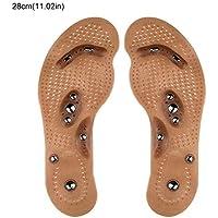 Colinsa Magnetfeldtherapie Massage Einlegesohle,Magnetische Fuß Schuheinlagen Gel Schuh Pads Entlasten Füße Schmerzen... preisvergleich bei billige-tabletten.eu