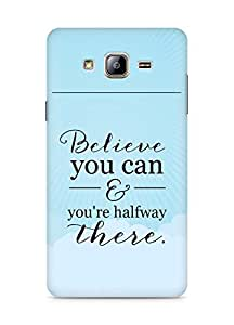 AMEZ believe you can and you are there halfway Back Cover For Samsung Galaxy ON5