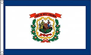 Nw 5Ft X 3Ft 5'X3' Flag West Virginia America State American Usa American