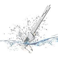 BXU-BG Calibrador electrónico digital de alta precisión de acero inoxidable a prueba de agua industrial Caliper 0-150mm (Tamaño: 0-150mm)