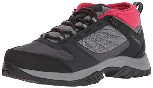 Columbia Women's Terrebonne II Sport Omni-TECH Hiking Shoe, ti Grey Steel, Candy Apple, 10 Regular US Candy Tech
