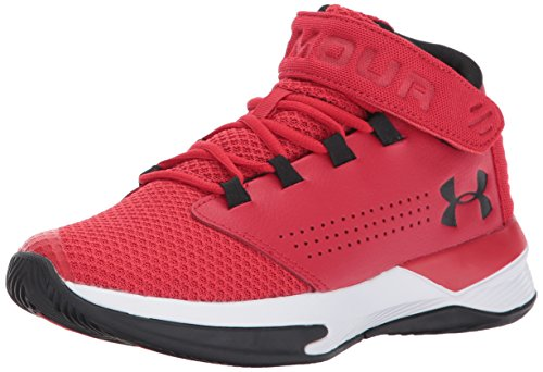 Under Armour Jungen UA BGS Get B Zee Basketballschuhe, Rot (Red), 38 EU