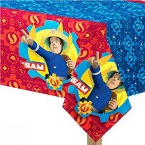 Amscan International Tischdecke * FEUERWEHRMANN SAM * für Kindergeburtstag und Motto-Party // Feuerwehr Kinder Geburtstag Deko