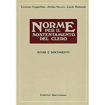 Norme Per Il Sostentamento Del Clero. Studi E Documenti