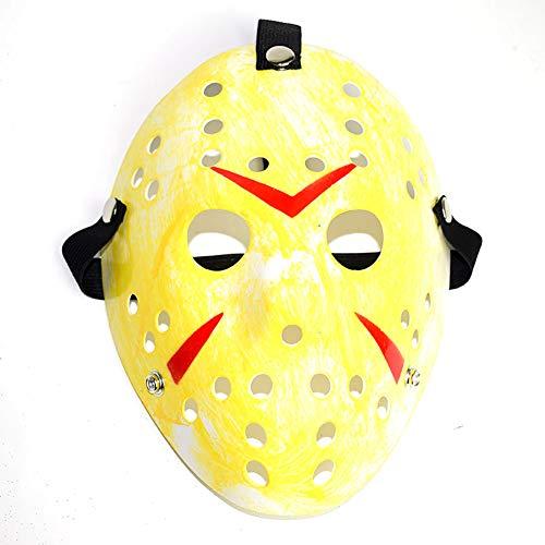 Lustige Maske Halloween Feier Kostüm Ball Maske Requisiten Party Decor (Gelb) 1 STÜCKE