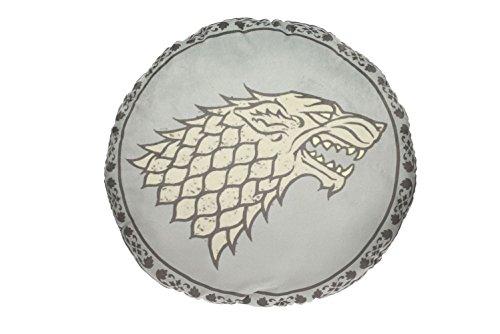 Game of Thrones - Kissen - Haus Stark - Wappen Logo - 45 x 45 x 8 ()
