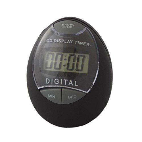 Megaprom Digital LCD Küchentimer Küchenuhr Eieruhr Timer Stoppuhr Kurzzeitmessermit mit Stoppuhrfunktion