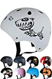 Skullcap® BMX Helm - Skaterhelm - Fahrradhelm - Herren | Damen | Jungs & Kinderhelm Gr. S (53 - 55 cm), Robodog