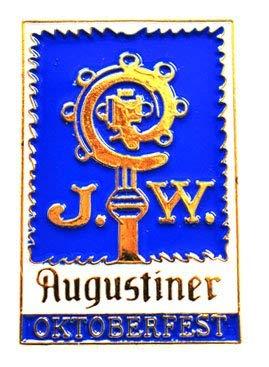 Augustiner Pin blau